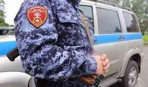 В Архангельске наряд Росгвардии задержал злостного неплательщика алиментов