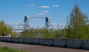 ВАрхангельске натри дня полностью перекроют железнодорожный мост