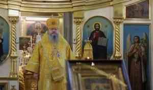 Митрополит Корнилий 5 июля совершил Литургию в Ильинском соборе
