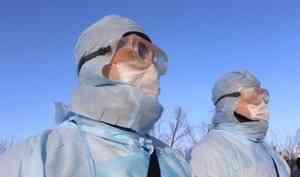 Федеральный оперштаб сообщил о 104 новых случаях коронавируса в Архангельской области