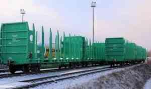 С начала года ООО «Архбум» перевезло более 2 миллионов тонн грузов