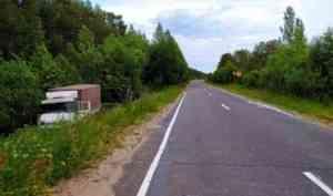 В Верхнетоемском районе погиб съехавший в кювет водитель фургона