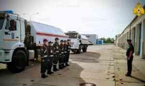 Специалисты Волжского спасательного центра МЧС России прибыли в Республику Мордовия для проведения дезинфекционных работ