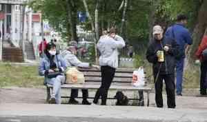 Где в Архангельской области больше всего заболевших коронавирусом? Ответ — в одной картинке