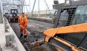 Сдать на сутки раньше: мэрия торопит подрядчика с ремонтом жд-моста в Архангельске