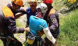 Специалисты МЧС России спасли альпинистку в Краснодарском крае