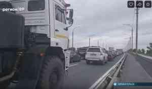 Транспортный коллапс в Архангельске: почему перекрыли железнодорожный мост?
