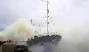 В военном порту в Северодвинске 9 июля проведут учения с дымовой завесой