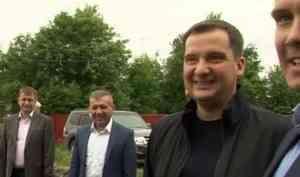 Александр Цыбульский посетил Плесецкий район