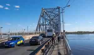 Железнодорожный мост вАрхангельске открыли для движения