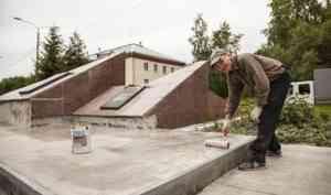 В Новодвинске ремонтируют мемориал погибшим в локальных конфликтах