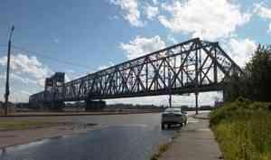 ВАрхангельске досрочно открыли железнодорожный мост