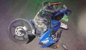 В Коряжме двое юных мотоциклистов пострадали в ДТП с иномарками