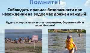 В Коряжме объявлен месячник безопасности людей на водных объектах