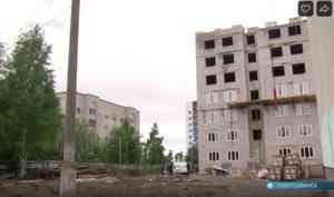 ВСеверодвинске настройке общежития САФУ насмерть разбился рабочий