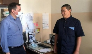 Онежская центральная больница получит новую машину скорой помощи