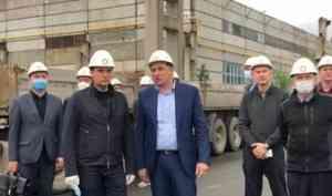 Александр Цыбульский побывал на одном из крупных предприятий Северодвинска АО «Промышленные технологии»