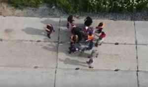 На Шиесе произошла стычка между активистами и охранниками