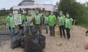 Активисты проекта «Чистый регион» выходные провели вдеревне Большое Анисимово