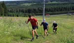ВАрхангельской области проходят тренировочные сборы спортсменов российской команды полыжным гонкам