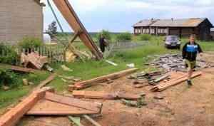 11 населенных пунктов Пинежского района остаются без электричества