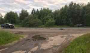 12 июля на Кородском шоссе под Северодвинском выпивший водитель устроил аварию
