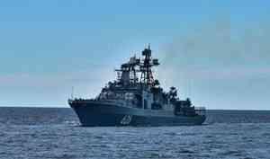 Отряд кораблей Северного флота прибыл вФинский залив для участия вглавном военно-морском параде