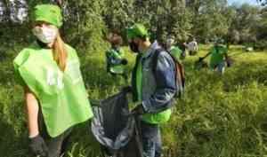 Волонтеры Котласа подключились к реализации губернаторского проекта «Чистый регион»