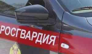 В центре Архангельска наряд Росгвардии задержал осужденного в федеральном розыске