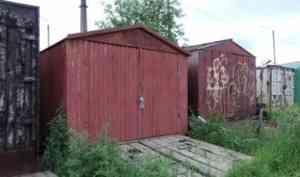 В Архангельске под снос пойдут более 100 незаконно установленных гаражей