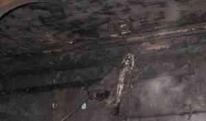 Склад со сварочным оборудованием поврежден огнем в Северодвинске