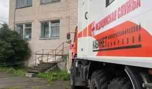 Передвижной флюорограф приехал в Приморский район