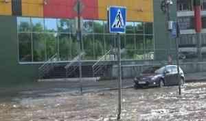 Участок «венецианской» улицы в Архангельске перекроют для ремонта канализации