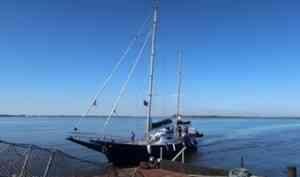 В Архангельск прибыла яхта «Мария» – участница проекта «Большая Арктическая Регата»
