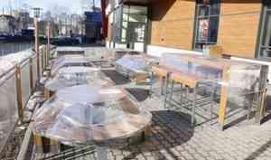 В Архангельске разрешено открывать летние веранды и кафе начиная с 28 июля