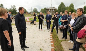 Александр Цыбульский поддержал идею создания ФОКа в поселке Двинской