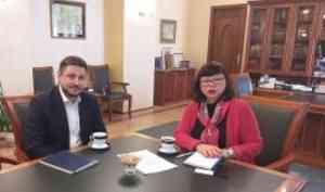 Руководитель Архангельской Торгово-промышленной палаты посетил альма-матер