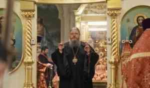 Митрополит Корнилий совершил в Ильинском соборе вечернее богослужение с акафистом пророку Илие
