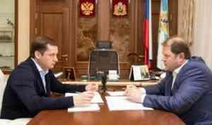 В Архангельскую область с рабочим визитом прибыл заместитель Министра транспорта РФ Владимир Токарев