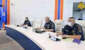 На контроле МЧС России – ликвидация последствий неблагоприятных метеоявлений