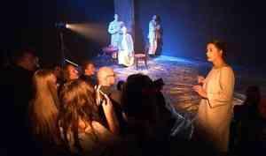 В Архангельском театре драмы накануне завершилась лаборатория молодых режиссёров «Рыбный обоз»