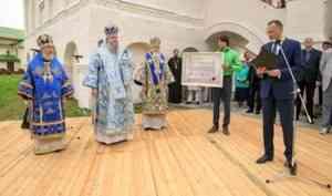 Митрополит Корнилий возглавил юбилейные торжества по случаю 500-летия Сийского монастыря