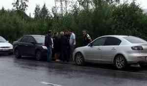 Полицейские Архангельска задержали автолюбителя, насчету которого 101 неоплаченный штраф