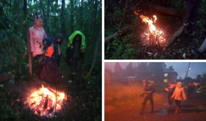 Пока выспали: бабушку с внуками пришлось искать в лесу спасателям