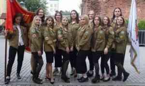 Женский строительный отряд «Белка» из Архангельска строит небоскреб в Петербурге
