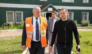 Александр Цыбульский совершил рабочий визит в Няндому
