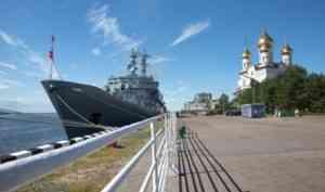 Зачем «Смольный» приходил в Архангельск?