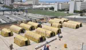 В Бейруте заработал аэромобильный госпиталь МЧС России
