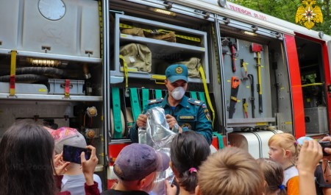 Праздник безопасности провели в Тверском детском лагере «Радуга» (видео)