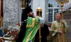 В Артимиево-Веркольском монастыре отметили праздник обретения мощей святого отрока